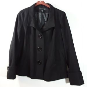Cute black  Apostrophe jacket in womens xl